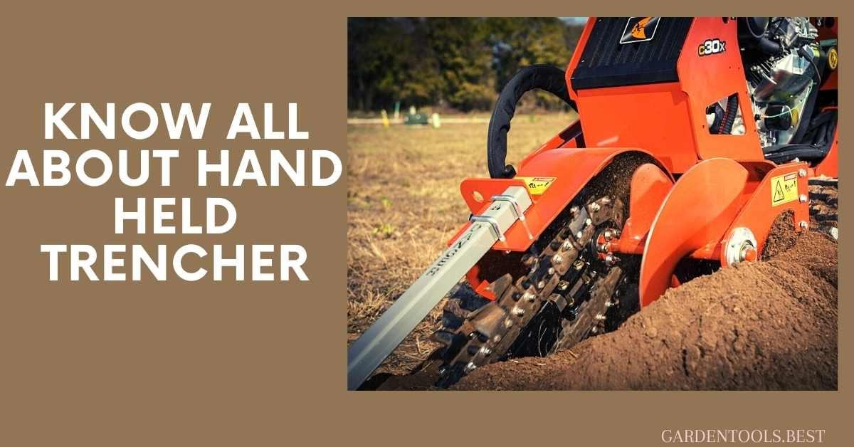 hand held trencher