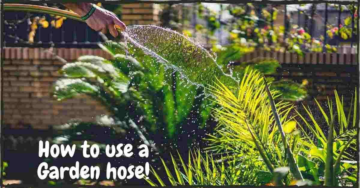 professional garden hose repair