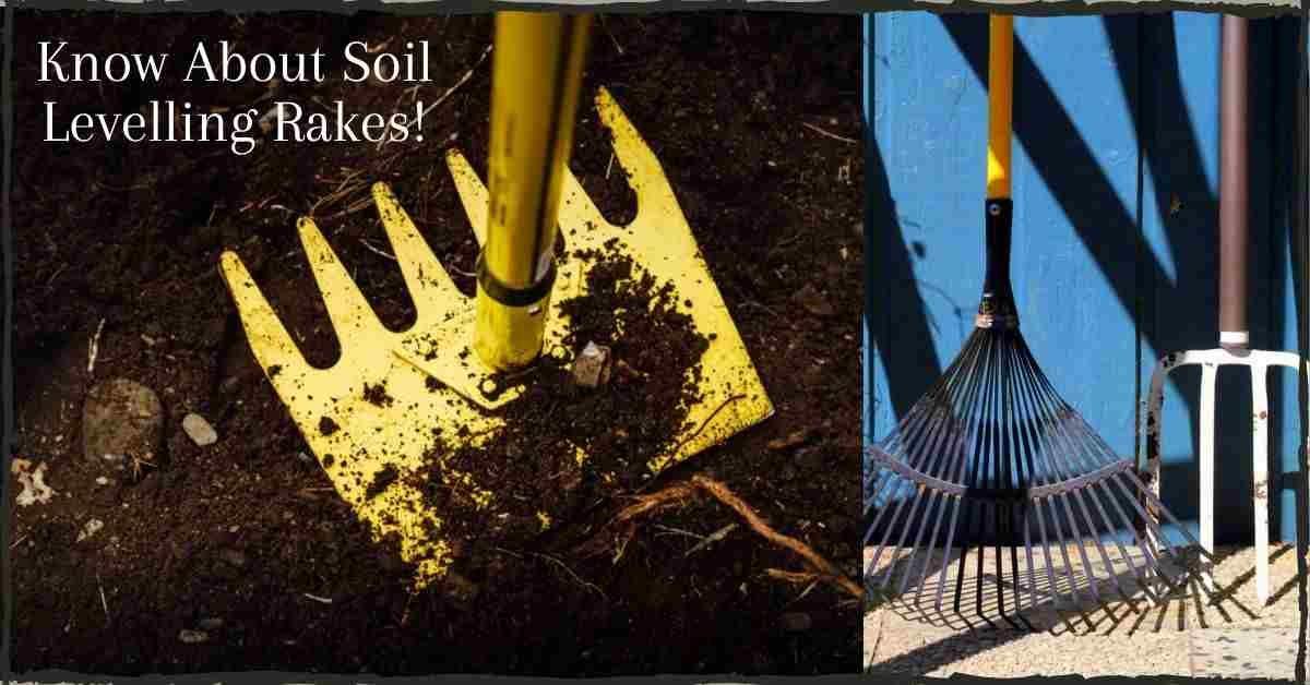 soil levelling rake