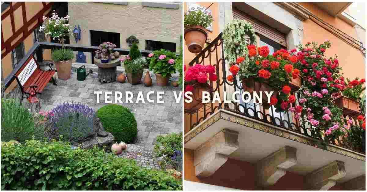 terrace vs balcony