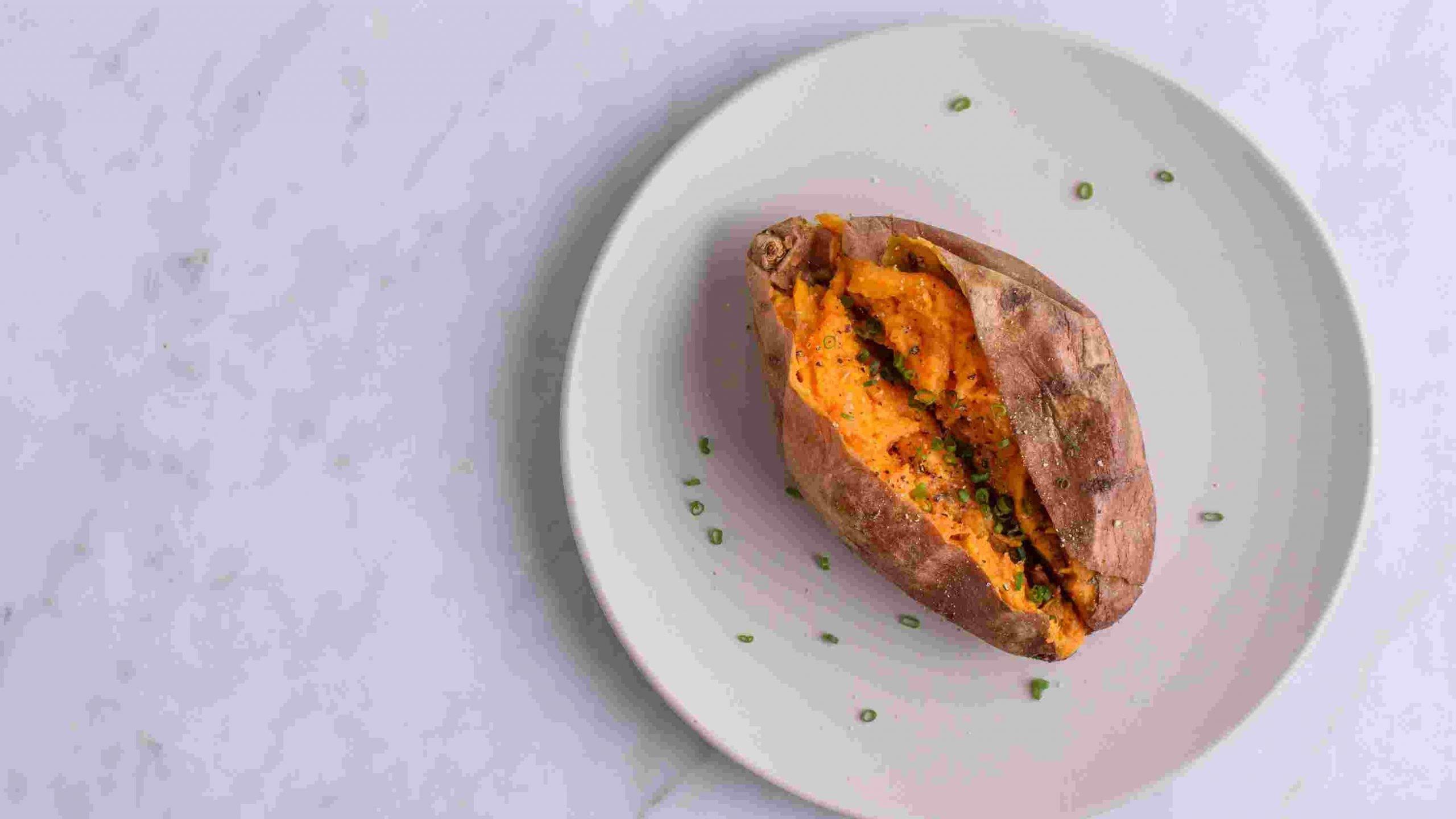 calcium in sweet potatoes
