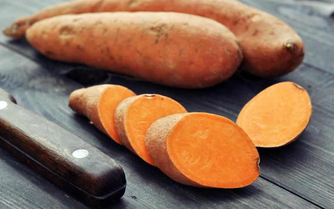 ingredients in sweet potatoes