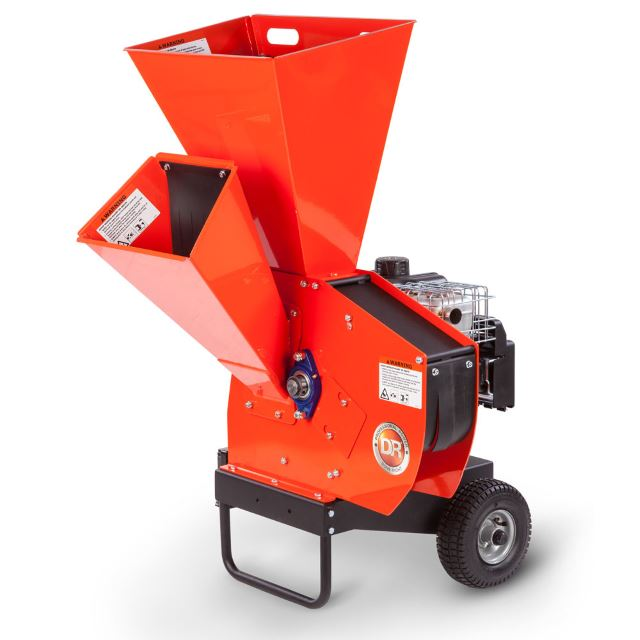 dr wood chipper pro 475 electric-start